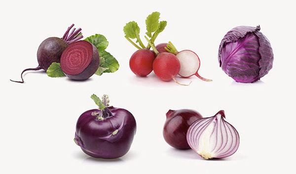 Pink Vita zöldségek
