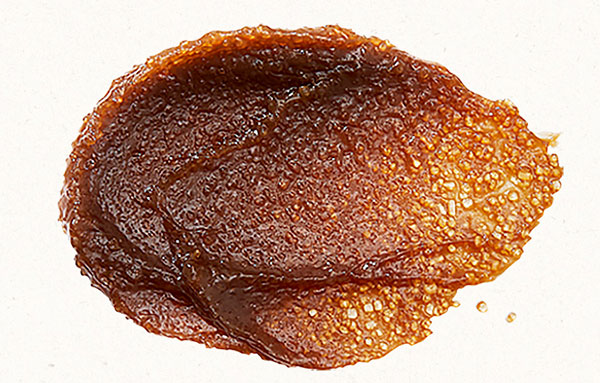 Skinfood barnacukros bőrradír textúrája