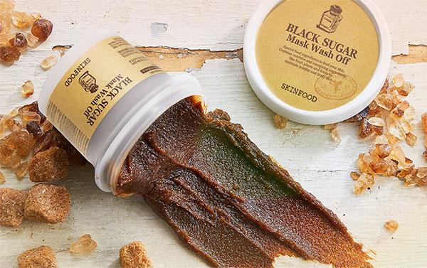 Skinfood Black Sugar bőrradírozó arcmaszk