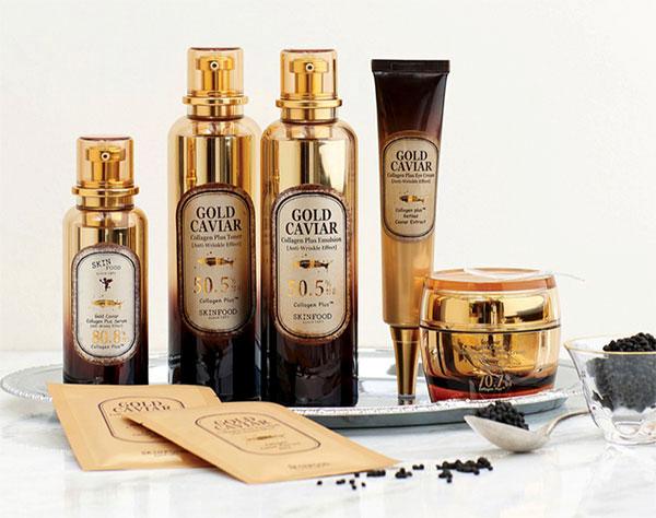 Skinfood Gold Caviar termékcsalád