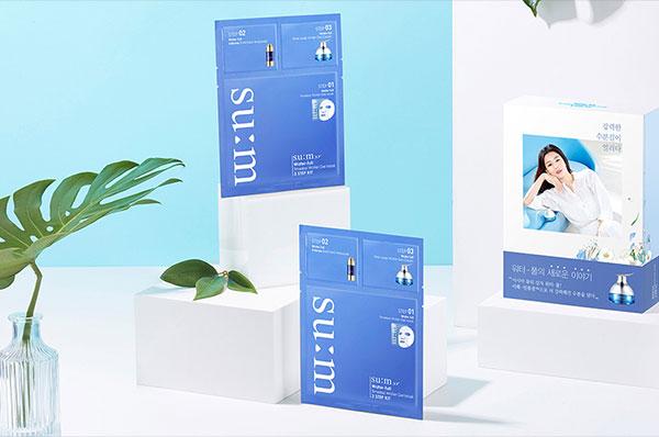 Su:m37 Water-full Timeless Water Gel Mask 3 Step Kit Set
