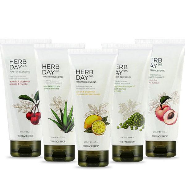 The Face Shop Herb Day 365 termékcsalád