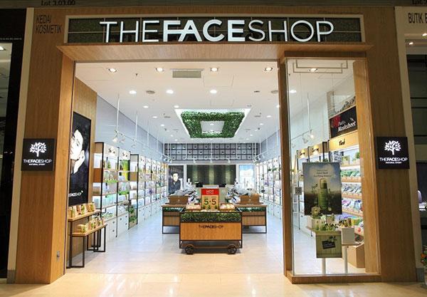 The Face Shop üzlet Myeongdong